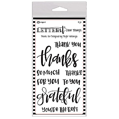RANGER THANK YOU LETTER IT CLEAR STAMPS