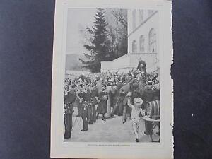LibéRal 1893 ème 6/bismarck Friedrichsruh Dans-afficher Le Titre D'origine Couleur Rapide