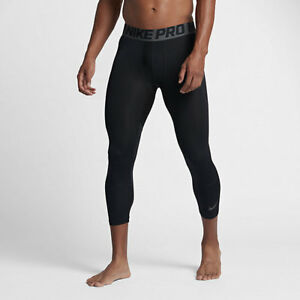 finest selection 72343 6279c Image is loading Nike-Pro-Hypercool-Three-Quarter-Men-039-s-