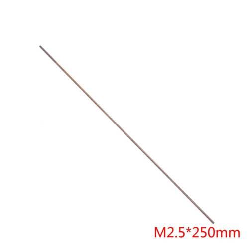 *250mm Brand New 1* Brass Thread Rod Screw Full-Threaded M2,M2.5,M3,M4,M5