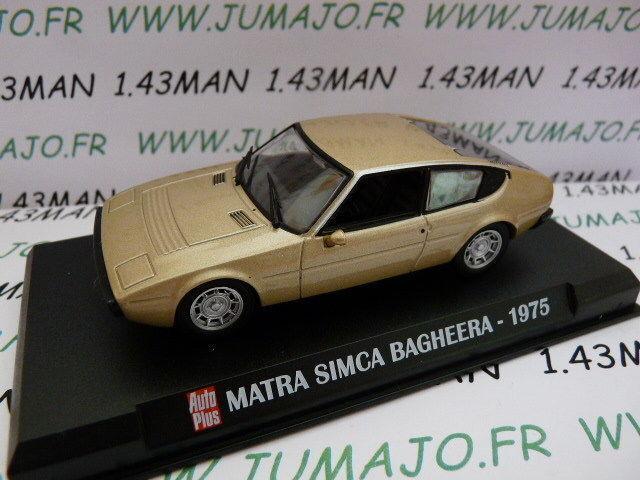 AP15N Voiture 1 43 IXO AUTO PLUS   SIMCA Matra Bagheera 1975