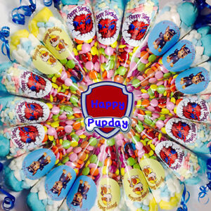 Pre-filled-theme-sweet-cone-boys-girls-children-party-favors-birthday-celebrate