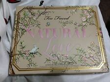NIB Too Faced Natural Love Limited Edition Eyeshadow Palette - Authentic