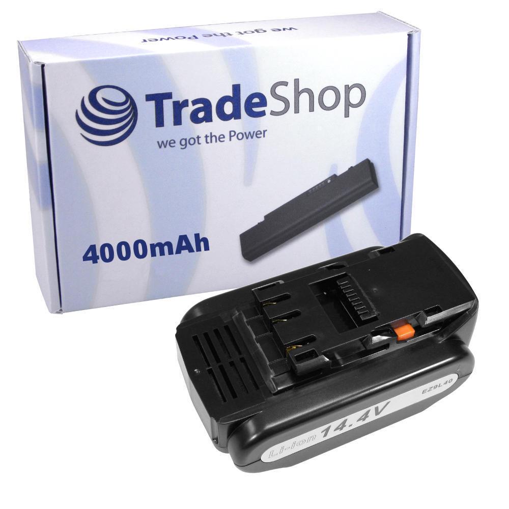 Akku 14,4V 4000mAh Li-Ion Battery für Panasonic EZ4640LR1S EZ4640LR1S-B EZ4640LZ