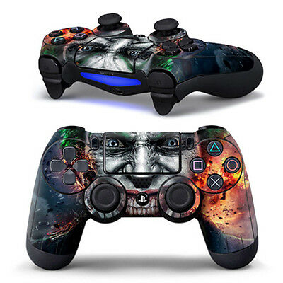 Joker Game Cover Decal Sticker for PS4 Playstation 4 Dualshock Controller Skin
