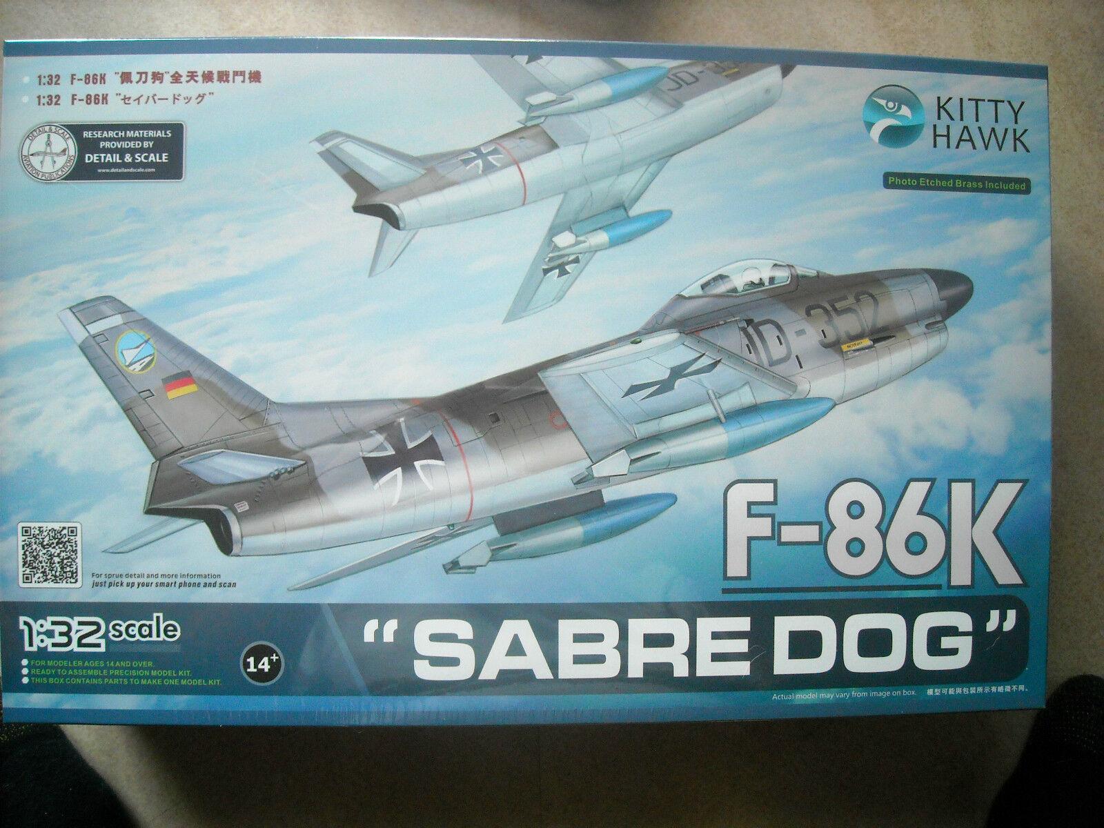 KITYHAWK -1  32 -KH32008 -F -86K SABRE DOG