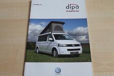102406) VW Bus T5 Wohnmobil - Dipa - Prospekt 2012