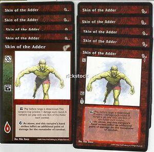 Skin of the Adder x10 KMW FN VTES Jyhad