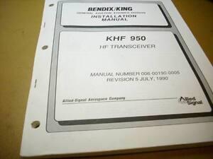 king khf 950 hf transceiver install manual ebay rh ebay com