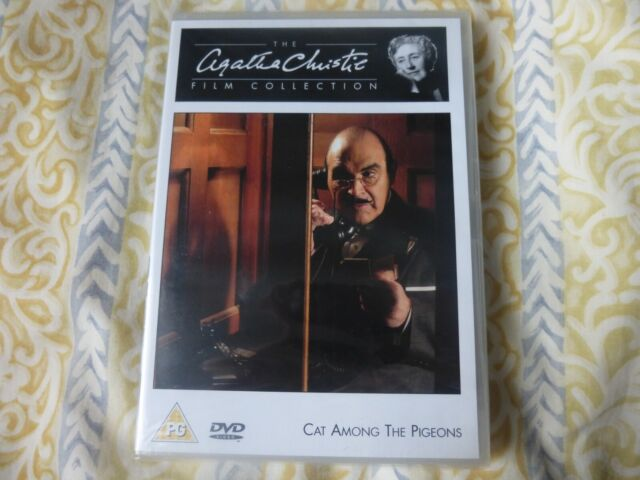 Agatha Christie's Poirot - Cat Among the Pigeons (DVD, 2008) New & Sealed.