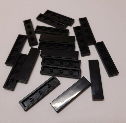 Harry Potter Nouveau Lego 2431 Tile 1 x 4 Noir Lot de 10 VILLE Minecraft