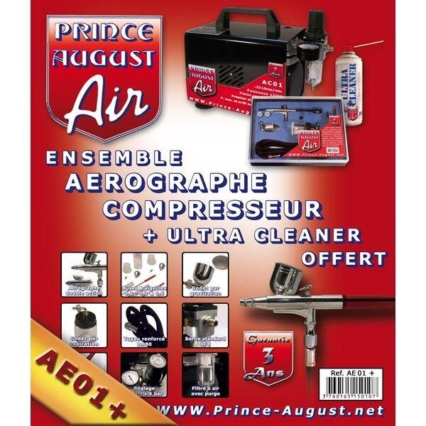 PRINCE AUGUST AE01+ COFFRET COMPLET  3 ANS DE GARANTIE