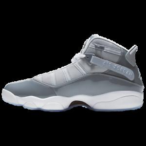 wholesale dealer d725b 40cd8 Details about New Nike Air Jordan '6 Rings' - 'Cool Grey' - Patent Leather  - Men's Size 10