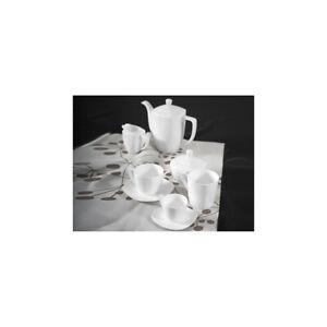Responsable H&h Caffettiera Quadrato Bone China Cc1065 Moka Per Il Caffè