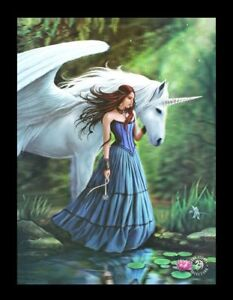 3d-Cuadro-con-unicornio-enchanted-Piscina-Anne-Stokes-Fantasy-FOTO-LIENZO