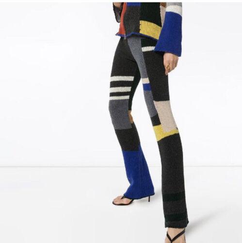 Eckhaus Latta Knit Flared Pants