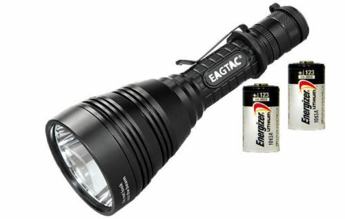 Eagletac  M30LC2 XM-L2 LED Flashlight (1260 Lumens) + 2x Energizer CR123A  happy shopping