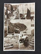 Vintage RPPC: Devon: #T133 : Multi View: Posted South Molton 1947