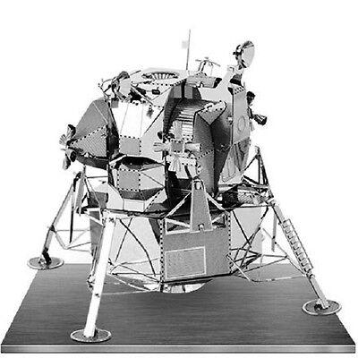 Apollo Lunare Modulo: Metal Earth 3d Taglio Laser Kit Modellino Miniatura Famoso Per Materiali Selezionati, Disegni Innovativi, Colori Deliziosi E Lavorazione Squisita