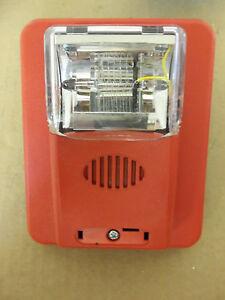 s l300 gentex fire alarm horn strobe hs24 15 75wr ebay