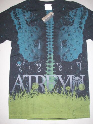 Atreyu Spine Allover Print T-shirt