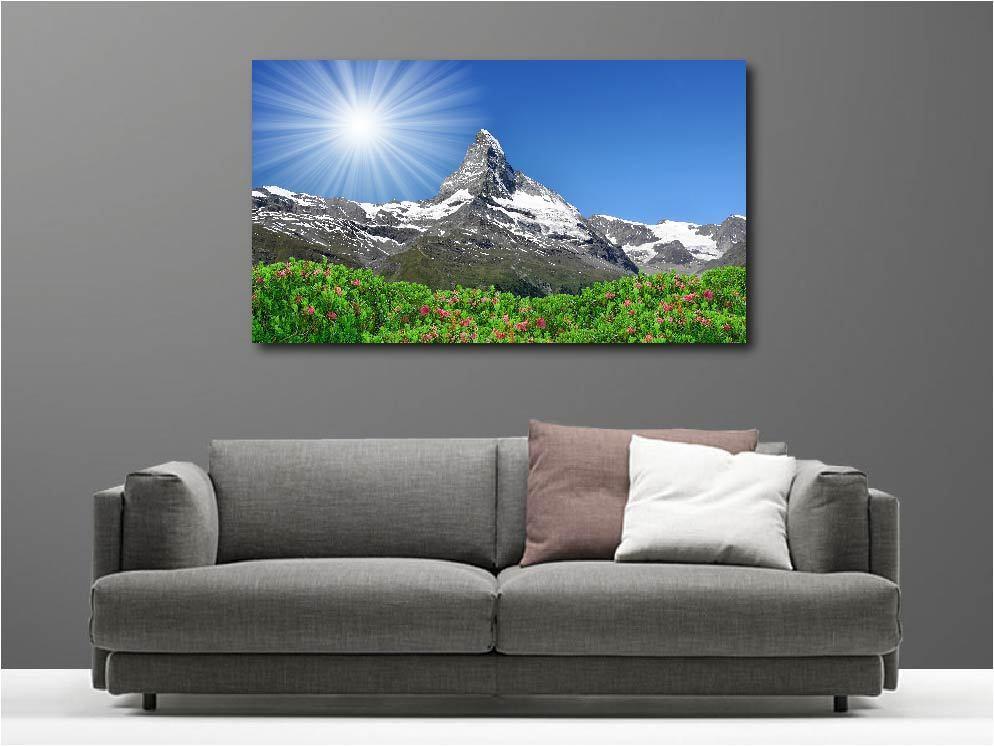 Cuadro Pinturas Decoración en Kit Paisaje Montaña Ref 71181712