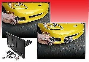 2010-2013 Corvette Grand Sport Powered Wireless Retractable License Plate Frame