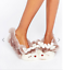 Womens Ladies Fluffy Fleece Soft Warm Comfy Character Novelty Slippers Mules