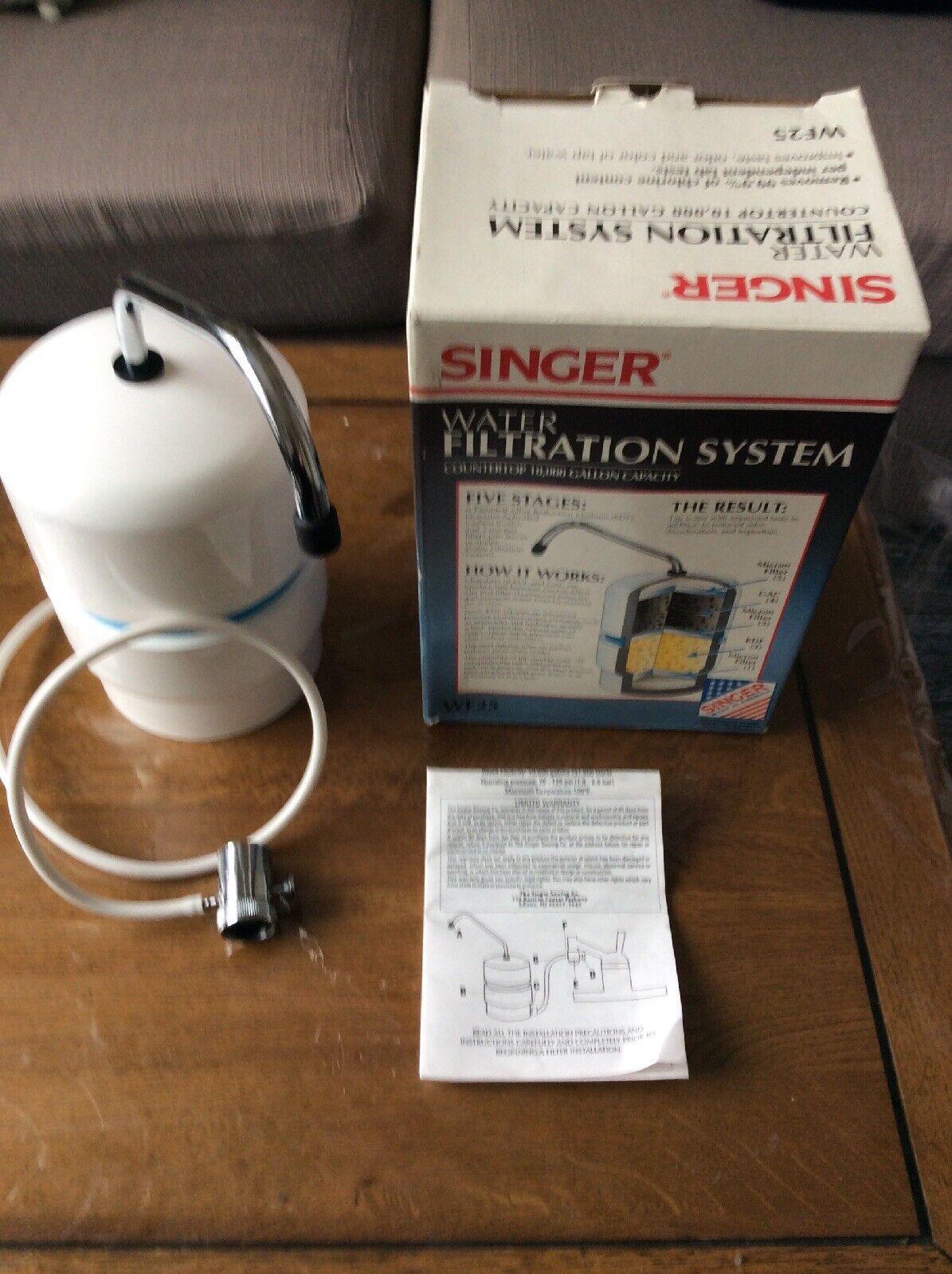 Singer Water Filtration System WF25   eBay