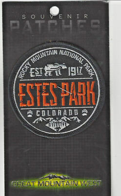 Estes Park Colorado Souvenir Ski Snowboard Patch