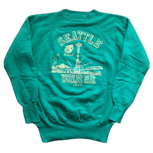 Vintage 60s Sweater 1962 Seattle World's Fair Mens