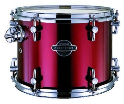 """Wine Red 14x14/"""" NUOVO Floor Tom SONOR SMART FORCE"""