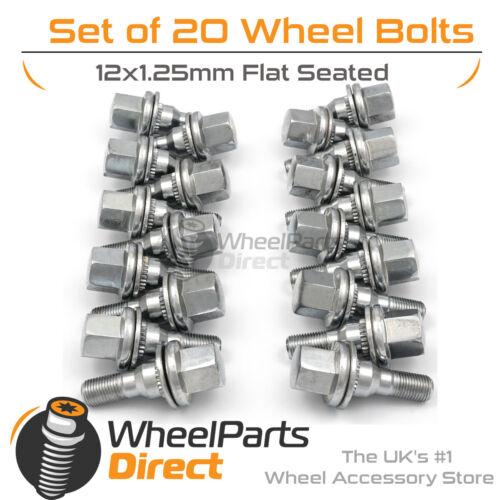 20 12x1.25 Flat For Citroen XM Y3 89-94 Original Style Wheel Bolts