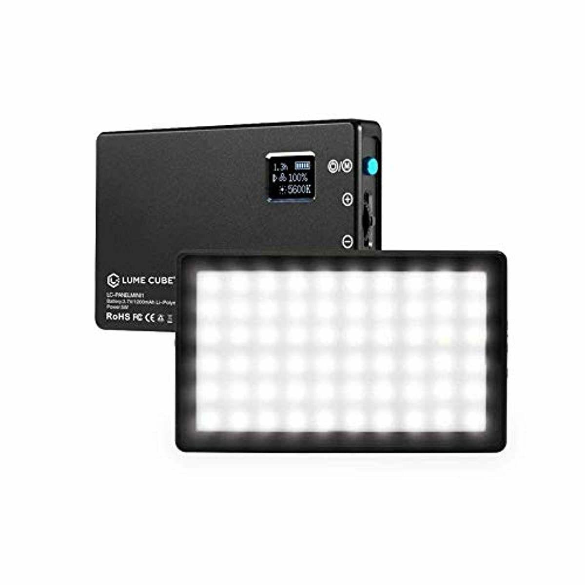 Lume Cube Bicolor LED Light for Professional DSLR Cameras | Adjustable Panel Min
