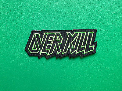 IRON ON PATCH: PUNK ROCK HEAVY METAL MUSIC SEW OVERKILL