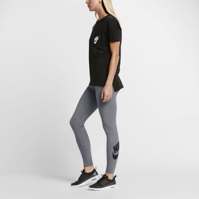 761c95d9a998a0 $45.00 806927-092 Nike Women Women'S Nike Sportswear Legging (carbon  heather / b
