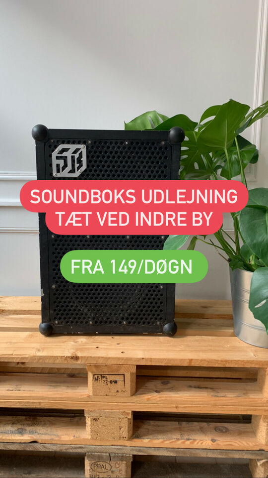 Soundboks udlejning