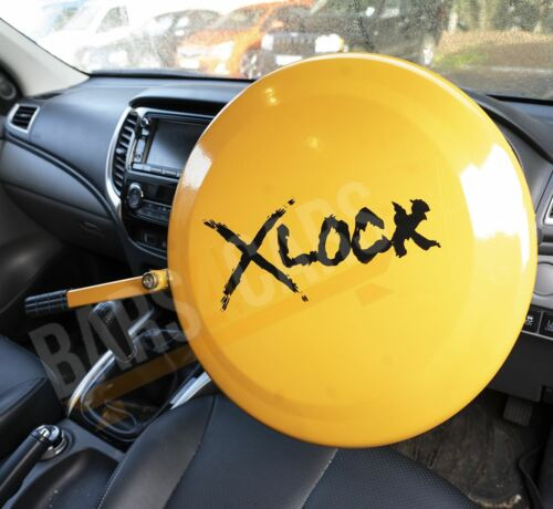 Full Face Steering Wheel Lock Clamp Security for Volvo XC90 All Models