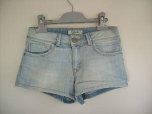 Marque Détails Court Ans Bleu En Femme Fille 34 14 Taille Sur Bermuda Short De Pimkie Jean zMUGqSVp