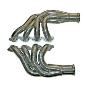 Details about BBC 396/427/454/507 /572 UP&FORWARD TURBO MANIFOLD HEADER FOR  CHEVY BIG BLOCK V8