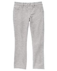NWT Gymboree Girls Bright Ideas Basic Gray Leggings Size 4