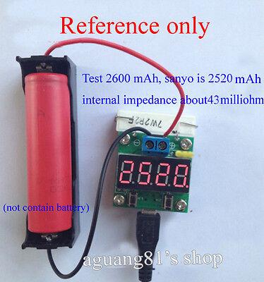 Digital Lithium Li-ion NIMH Battery Capacity Tester Voltage Detector Discharger