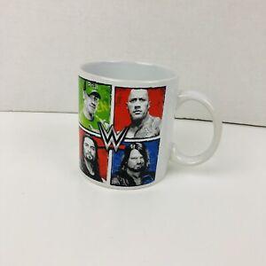 Wwe 20 Oz Ceramic Coffee Mug Printed The Rock John Cena Raines Styles Official 812286034729 Ebay
