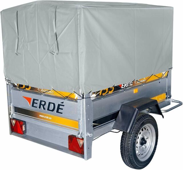 New Erde 163 & Daxara 168 Trailer 60CM High Secure Cover & Tubular, Tube Frame !