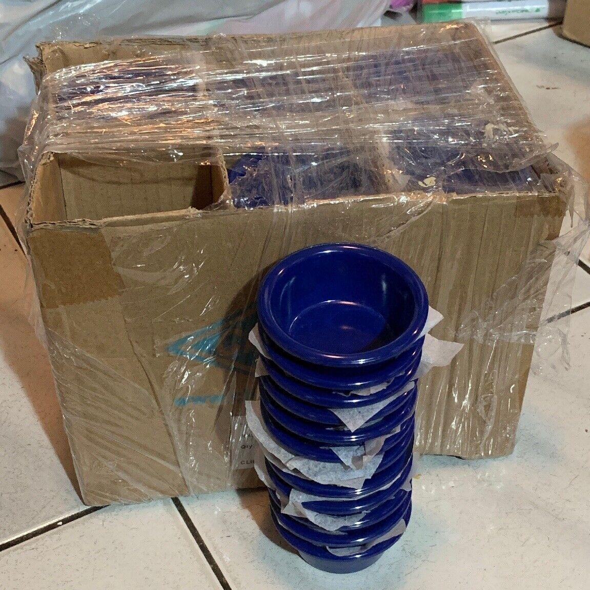 NEW Clipper 1.5 oz Ramekin bluee Cup Sauce Salsa Condiment Dip 5140 Lot of 72