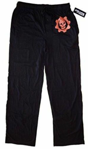 official size medium Gears of War Crimson Omen Sleep LOUNGE Pants black new