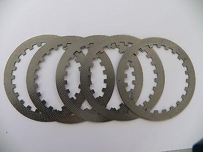 CL022 SET OF 5 X CLUTCH STEEL PLATES FOR BASHAN BS200S-7 QUAD BIKE 200CC