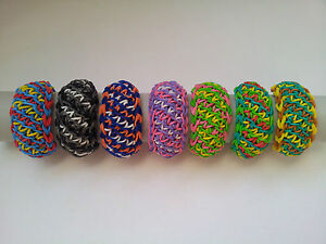 Image Is Loading Rainbow Loom Rubber Band Bracelet Grace Pick Or