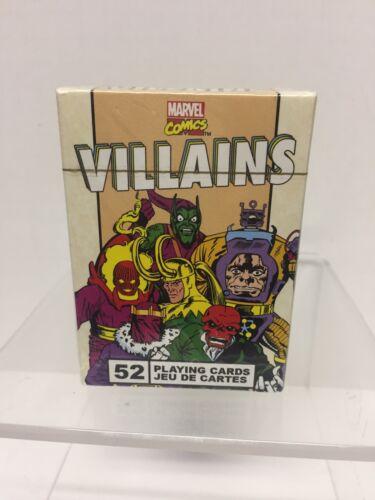 Marvel Playing Cards Villians Vintage