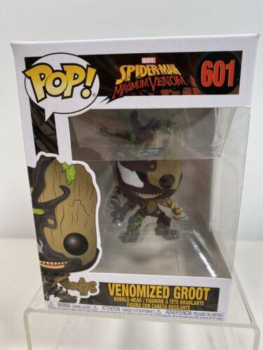 VENOMIZED GROOT FUNKO POP MARVEL:SPIDER-MAN MAX VENOM VINYL FIGURE #601